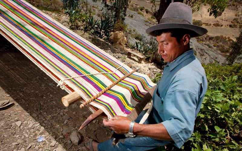 Tejedor de Huaylas