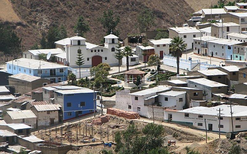 Distrito de Pamparomás