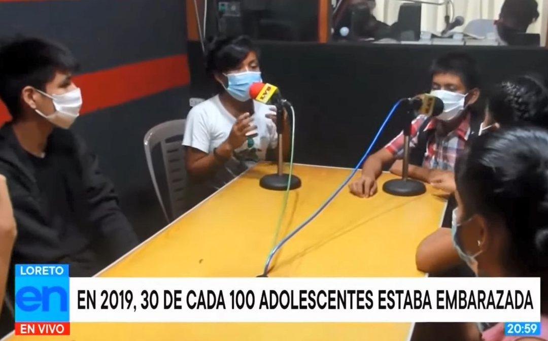 """Difusión en Tv Perú y Panamericana Televisión sobre el Proyecto Salud y Bienestar Familiar"""""""